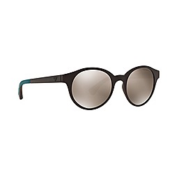 Emporio Armani - Brown round EA4045 sunglasses