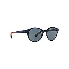 Emporio Armani - Blue round EA4045 sunglasses