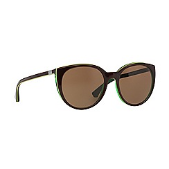 Emporio Armani - Brown round EA4043 sunglasses