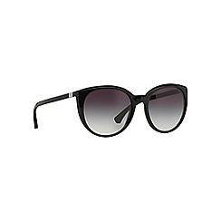 Emporio Armani - Black round EA4043 sunglasses