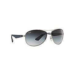 Ray-Ban - Silver  aviator RB3526 sunglasses