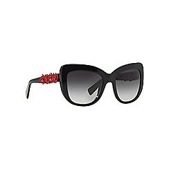 Dolce & Gabbana - Black oversize DG4252 sunglasses