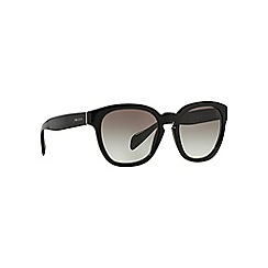 Prada - Black square PR 17RS sunglasses