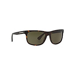 Prada - Brown rectangle PR 15RS sunglasses