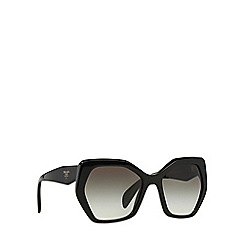 Prada - Black irregular PR 16RS sunglasses