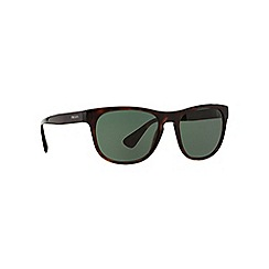 Prada - Brown square PR 14RS sunglasses