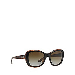 Ralph Lauren - Black square RL8132 sunglasses
