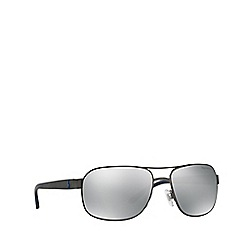 Polo Ralph Lauren - Gunmetal square male sunglasses