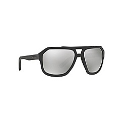 Dolce & Gabbana - Grey rectangle DG2146 sunglasses