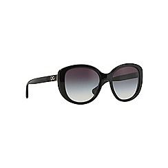 Dolce & Gabbana - Black square shape DG4248 sunglasses