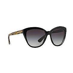Dolce & Gabbana - Black oversize DG4250 sunglasses