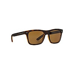 Dolce & Gabbana - Brown rectangle DG6095 sunglasses