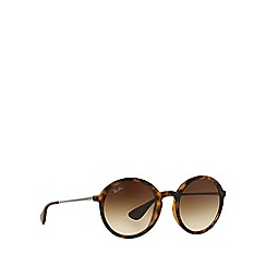 Ray-Ban - brown  round RB4222 sunglasses