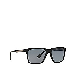 Emporio Armani - Black square EA4047 sunglasses