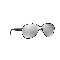Prada Linea Rossa - Grey aviator PS 55QS sunglasses