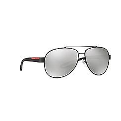 Prada Linea Rossa - Grey aviator PS 55QS sunglasses