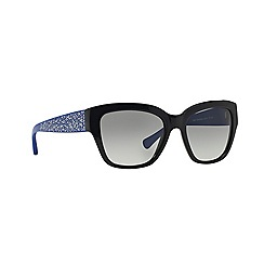 Coach - Black butterfly HC8139 sunglasses