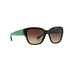 Coach - Dark tortoise butterfly HC8139 sunglasses