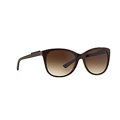 DKNY - Brown  square DY4126 sunglasses
