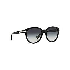 Coach - Black HC8140 round sunglasses