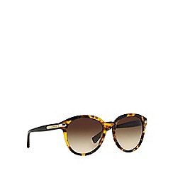 Coach - Brown HC8140 round sunglasses