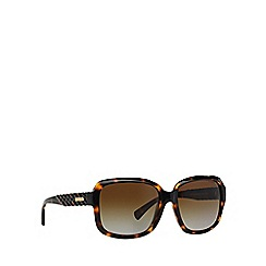 Coach - Dark tortoise square HC8141 sunglasses
