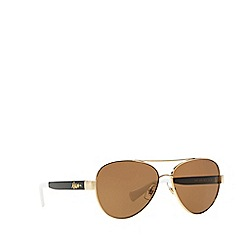 Ralph - Gold pilot RA4114 sunglasses