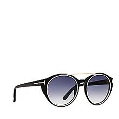Tom Ford - Black FT0383 rectangle sunglasses