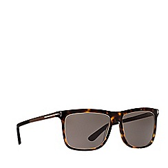 Tom Ford - Brown 'Dominic' FT0392 rectangle sunglasses