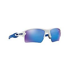 Oakley - White rectangle OO9188 sunglasses