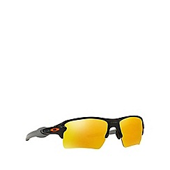 Oakley - Shiny black 'Flak 2.0 Xl' OO9188 rectangle sunglasses