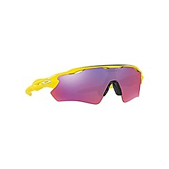 Oakley - Yellow 'Radar Ev Path' OO9208 rectangle sunglasses