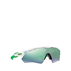 Oakley - White 'Radar Ev Path' OO9208 rectangle sunglasses