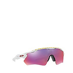 Oakley - White OO9208 Radar Path sunglasses