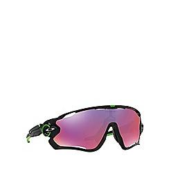 Oakley - Black 'Jawbreaker' OO9290 rectangle sunglasses