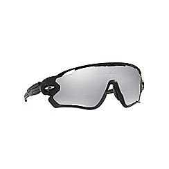 Oakley - Polished black 'Jawbreaker' OO9290 rectangle sunglasses