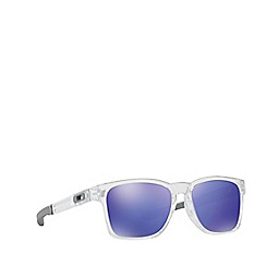 Oakley - White rectangle OO9272 sunglasses