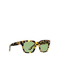 Gucci - Brown GG1099 rectangle sunglasses