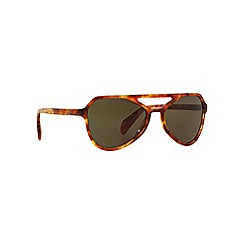 Prada - Brown pilot PR 22RS sunglasses