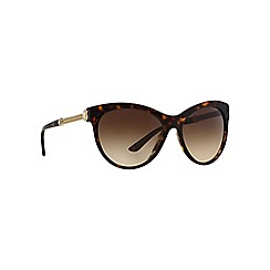 Versace - Brown VE4292 round sunglasses