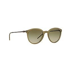 Emporio Armani - Green round EA4050 sunglasses