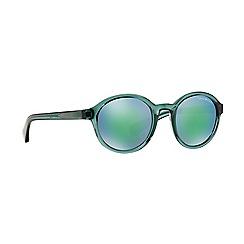 Emporio Armani - Green round EA4054 sunglasses