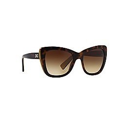 Dolce & Gabbana - Brown butterfly DG4260 sunglasses