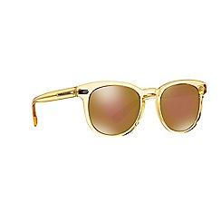 Dolce & Gabbana - Yellow d-frame DG4254 sunglasses