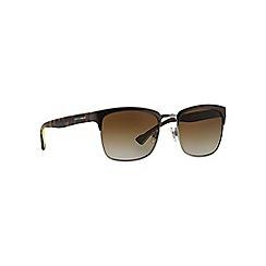 Dolce & Gabbana - Gunmetal DG2148 square sunglasses
