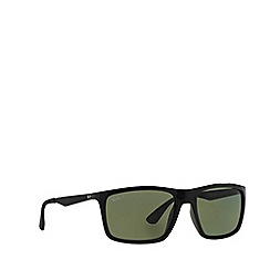 Ray-Ban - Black  rectangle RB4228 sunglasses