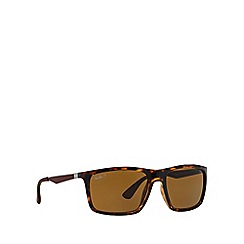 Ray-Ban - Brown  rectangle RB4228 sunglasses