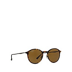 Ray-Ban - Brown  round RB4224 sunglasses