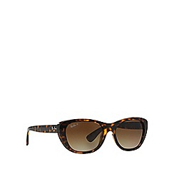 Ray-Ban - Brown RB4227 square sunglasses
