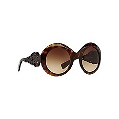 Dolce & Gabbana - Brown DG4265 round sunglasses